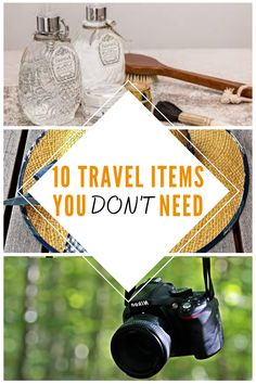 Here are ten travel items that you DON'T need to bring with you on your holidays. Find out how to pack the right way, both to save space and money!