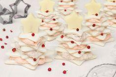 Alberi di tramezzini natalizi