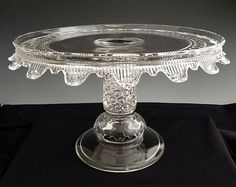 EAPG cake stand, 1886