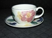 Johnson Brothers Marie Ironstone Cup & Saucer Sets