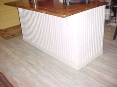 Images Of White Beadboard Kitchen Island | The Back Side Was Ugly, And Also  To