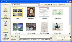 Komiks tworzony  w Microsoft Word XP