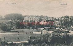 AK BIALYSTOK, Stadtpark, 1918, (K)19320 Parks, Paris Skyline, Travel, Painting, Historia, Urban Park, Viajes, Painting Art, Destinations