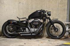 Harley Davidson Nightster 2008 - Lowering bars, drag struts, hardtail conversion