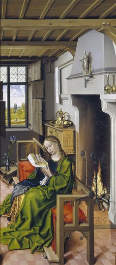 Robert Campin, The Werl Altarpiece                              …