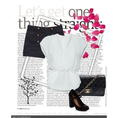 Black and White, created by sandy-thompson on Polyvore