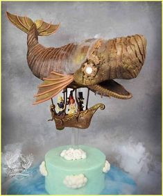 cakes I want steampunk for my next birthday