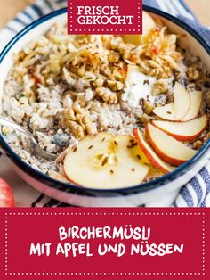 Superfood, Vegan, Risotto, Grains, Brunch, Rice, Ethnic Recipes, Apple, Easy Meals