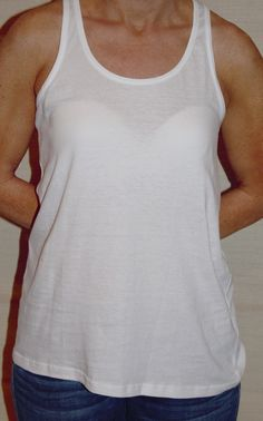 Plain and Simple Tank - White