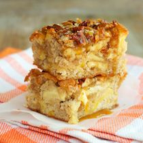 Caramel Apple Pecan Bars by ReganJonesRD, healthyaperture #Bars #Apple #Caramel