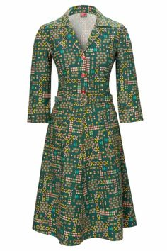 Wow To Go! - 60s Susy A-line shirt dress