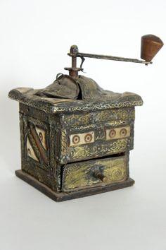 Aziatica; Antieke Oosterse koffiemolen