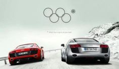 This image would have been a great bit of real-time marketing for Audi during the Olympics.