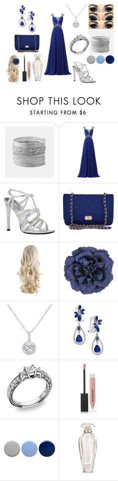 """""""Blue and Silver"""" by holly32196-1 on Polyvore featuring Avenue, Prada, Chanel, Monsoon, EWA, Effy Jewelry, Burberry, Victoria's Secret, beautiful and Blue"""