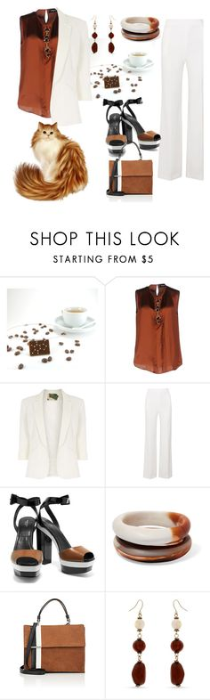 """""""Untitled #239"""" by gio-turchese ❤ liked on Polyvore featuring Dsquared2, Jolie Moi, Roland Mouret, Michael Kors, Dinosaur Designs, Tomasini and Erica Lyons"""