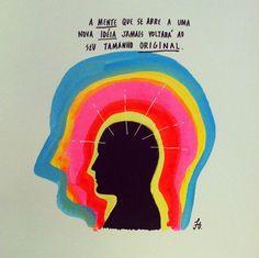 Felipe Guga espalha cores e mensagens de amor e luz em resposta à separação