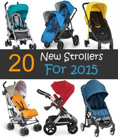 The 2015 have not even started yet, but we already want to know what strollers will be coming out next. If you have a hard time choosing a stroller, wait till you see the new strollers for 2015! As...