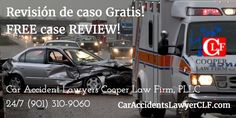 FREE case REVIEW! Car Accident Lawyers CLF,PLLC 24/7 (901) 310-9060 CarAccidentsLawyerCLF.com