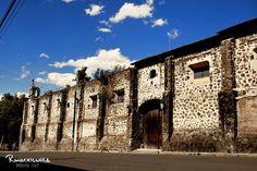 Hacienda Ojo de Agua.      A beautiful ex-hacienda in Estado de Mexico.
