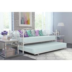 DHP Bombay Metal Daybed and Trundle - Overstock Shopping - Great Deals on DHP Beds