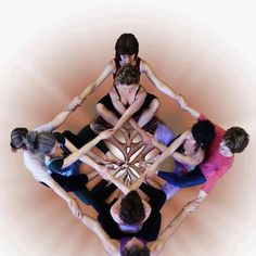 Beautiful bodies. Partner Yoga always makes us smile!