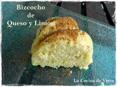 Bizcocho de queso y limón al microondas| Cocinar en casa es facilisimo.com