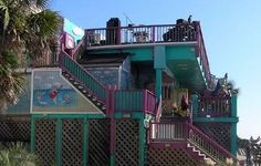We had a drink and sat on the uppermost deck at Coconut Joe's Isle of Palms, SC Isle Of Palms South Carolina, Myrtle Beach South Carolina, Vacation Destinations, Vacation Spots, Vacations, Best Places To Eat, Oh The Places You'll Go, Sullivans Island, Places Around The World