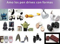 Pen drives con formas, pen drives originales, pen drives with forms, original pen drives