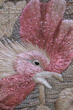 Japanese Embroidery Sashiko ♒ Enchanting Embroidery ♒ Japanese Silk and Gold Embroidery, Meiji Period Japanese Embroidery, Silk Ribbon Embroidery, Crewel Embroidery, Hand Embroidery Patterns, Embroidery Designs, Embroidery Supplies, Modern Embroidery, Embroidery Thread, Floral Embroidery