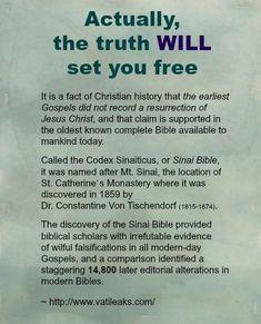 Sinai Bible: http://www.vatileaks.com/: