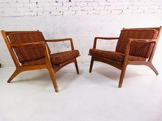 Just-In 11-12-13   Milo Baughman STYLE Swivel Club Chairs, Danish Modern Lounge Chairs, Mid-Century Brass Coat Rack, Kent Coffey Predicta Dressers, Oval Tulip Table