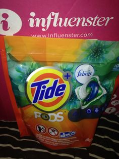 Tide Pods with Febreeze free in my XOVoxBox #Influenster love trying new products for free!!!