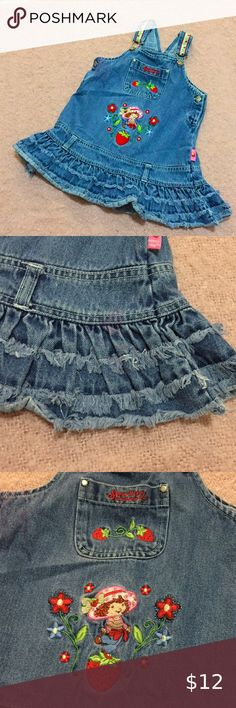 NWT Gymboree Girls Petal Pink Embroidered Top /& Meduim Denim Blue Shorts 4T