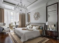 20 Sophisticated Traditional Bedroom Interiors You Wouldnt Want To Leave - Home Design Inspiration Sophisticated Bedroom, Traditional Bedroom, Teen Girl Bedrooms, Large Bedroom, Bedroom Modern, Bedroom Decor, Bedroom Interiors, Luxury Home Decor, Luxurious Bedrooms
