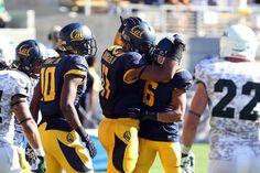 California Golden Bears Richard Rodgers, Chris Harper