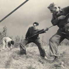 Students in a Jewish work-settlement, Werkdorp Wieringen, The Netherlands, 1939. Unpublished. CREDIT: Roman Vishniac. © Mara Vishniac Kohn, courtesy the International Center of Photography