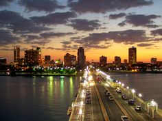 St. Petersburg, Florida,.I love crossing over I-275 from Tampa to Saint Petes when there is a full moon. Beautiful...