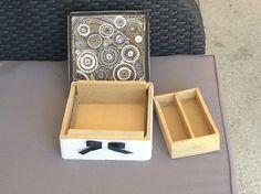 boite en carton ondulé forme carré