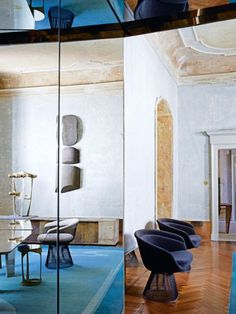House tour: a Milanese palazzo beautifully stripped back to its roots: To that end, each room reveals beautifully crumbling plaster and gently vaulted ceilings with original mouldings in an evocative state of disrepair, all in soft colours bleached by decades of sunlight. The effect is at once warm and inviting; it feels lived-in but luxurious — a trademark style for the designer, whose work reflects his love of surface texture, organic forms and light.