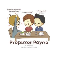 profesor payne knows all