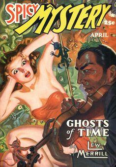 Allen Anderson - Spicy Mystery, April 1941