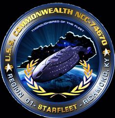 USS Commonwealth NCC 74670 - The USS Commonwealth congratulates the following crew members for the academic success at STARFLEET Acadmey: James Cecil Commodore, Tracy Lilly Lt. Col.,  Christopher Allen Commander and Danielle Lilly Ensign