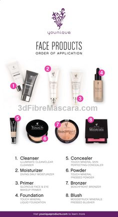 Ever wonder what face products to put on first? Heres a cheat sheet.