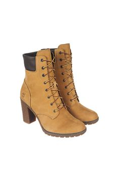 The Glancy 6 IN Low Heel Boot in Wheat