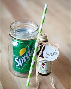 Jack and coke mason jar