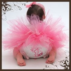 Butterfly Fly Away Personalized Birthday Tutu and Onesie Set with Matching Bloomers