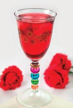 شراب الكركدية بماء الورد من مطبخ منال العالم  - #recipe
