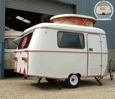 Retro Vintage Tiny White Eriba Puck Touring Caravan 1977 2 berth person VIDEO��   eBay