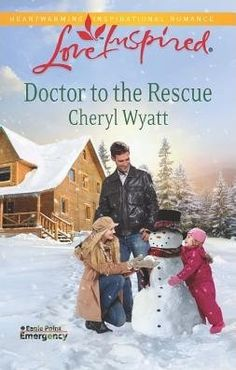 Cheryl Wayatt's Doctor to the Rescue is the second book in the Eagle Point Emergency series also part of the Love Inspired Books. It was a very touching love story. This is definitely my kind of book. I liked the setting of a small cozy town on a lake in the winter with snow. The characters were interesting with broken pasts.