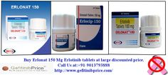 If you are searching Erlonat 150 Mg Erlotinib tablets at attractive discounted cost generic of Tarceva Erlotinib tablets mfd by Natco pharma company is a very effective cancer treatment medicine. Buy Erlotinib 150 Mg tablets anti cancer (Chemotherapy) drugs at large discounted price from Natco dealer , Call us at: +91-9013793888, Email Id: payquickway@gmail.com , QQ Mail: 1523458453@qq.com.